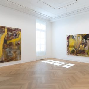 Albert Oehlen: Fn Paintings @Skarstedt 64th St, New York  - GalleriesNow.net