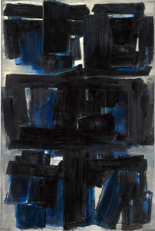 Peinture 195 x 130 cm, 30 octobre 1957
