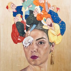 A Bridge Between You and Everything: An Exhibition of Iranian Women Artists, curated by Shirin Neshat x Center for Human Rights in Iran @High Line Nine, New York  - GalleriesNow.net