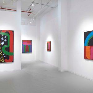 James Kelly: Tubes and Radiators: Paintings from 1964 - 1967 @David Richard Gallery, New York  - GalleriesNow.net