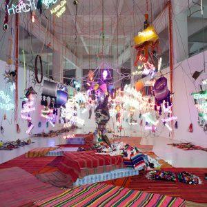 Jason Rhoades: Tijuanatanjierchandelier @David Zwirner 19th St, New York  - GalleriesNow.net