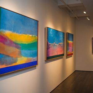 Ronnie Landfield. 50th Anniversary Show @Findlay Galleries, New York  - GalleriesNow.net
