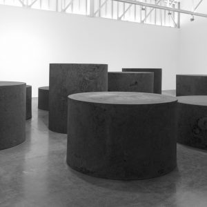 Richard Serra: Forged Rounds @Gagosian West 24th St, New York  - GalleriesNow.net