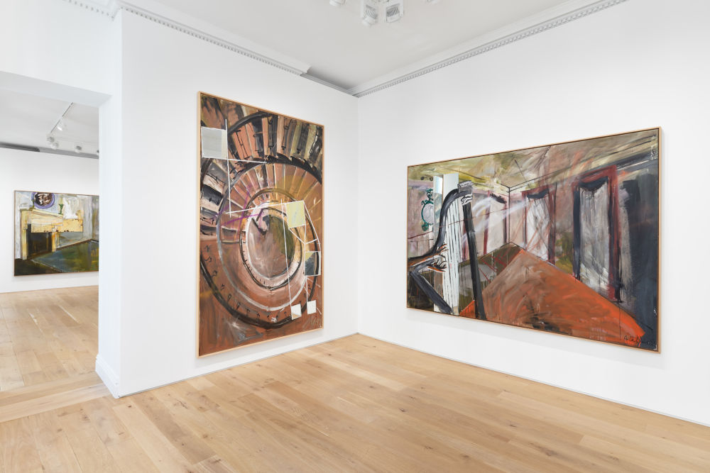 Galerie Max Hetzler Albert Oehlen 2