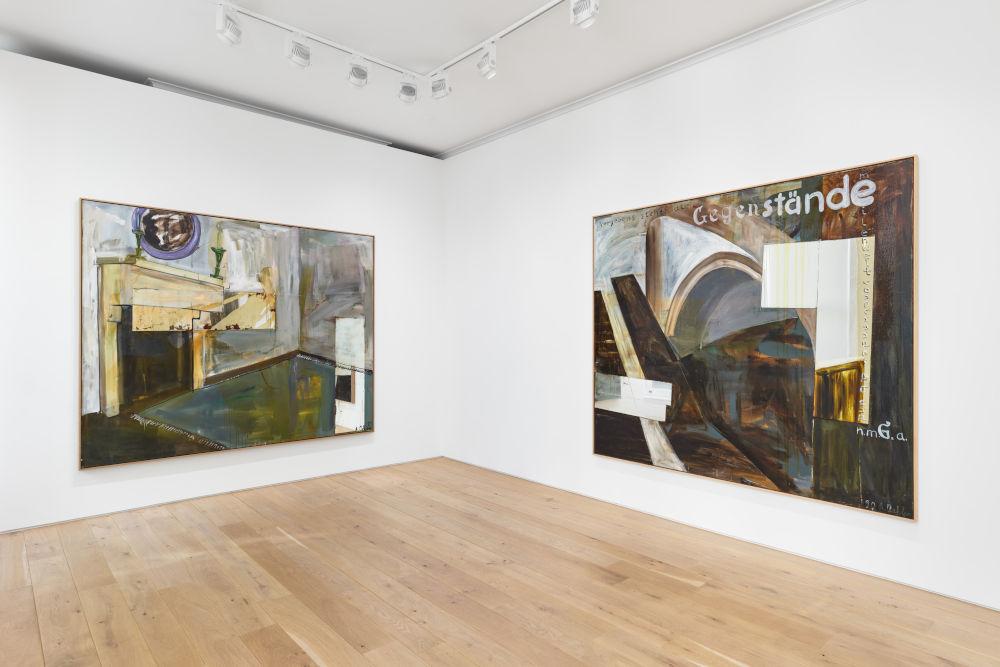 Galerie Max Hetzler Albert Oehlen 3