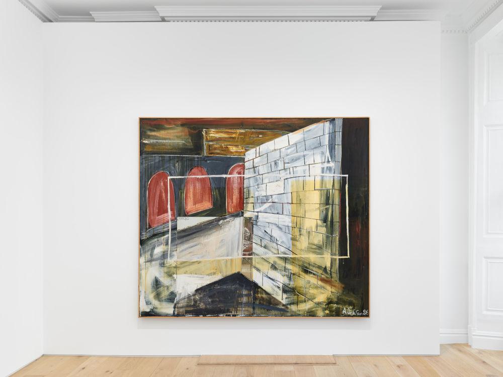 Galerie Max Hetzler Albert Oehlen 5