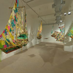 Hew Locke: Where Lies the Land? @Hales, London  - GalleriesNow.net