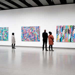 Bridget Riley @Hayward Gallery, London  - GalleriesNow.net