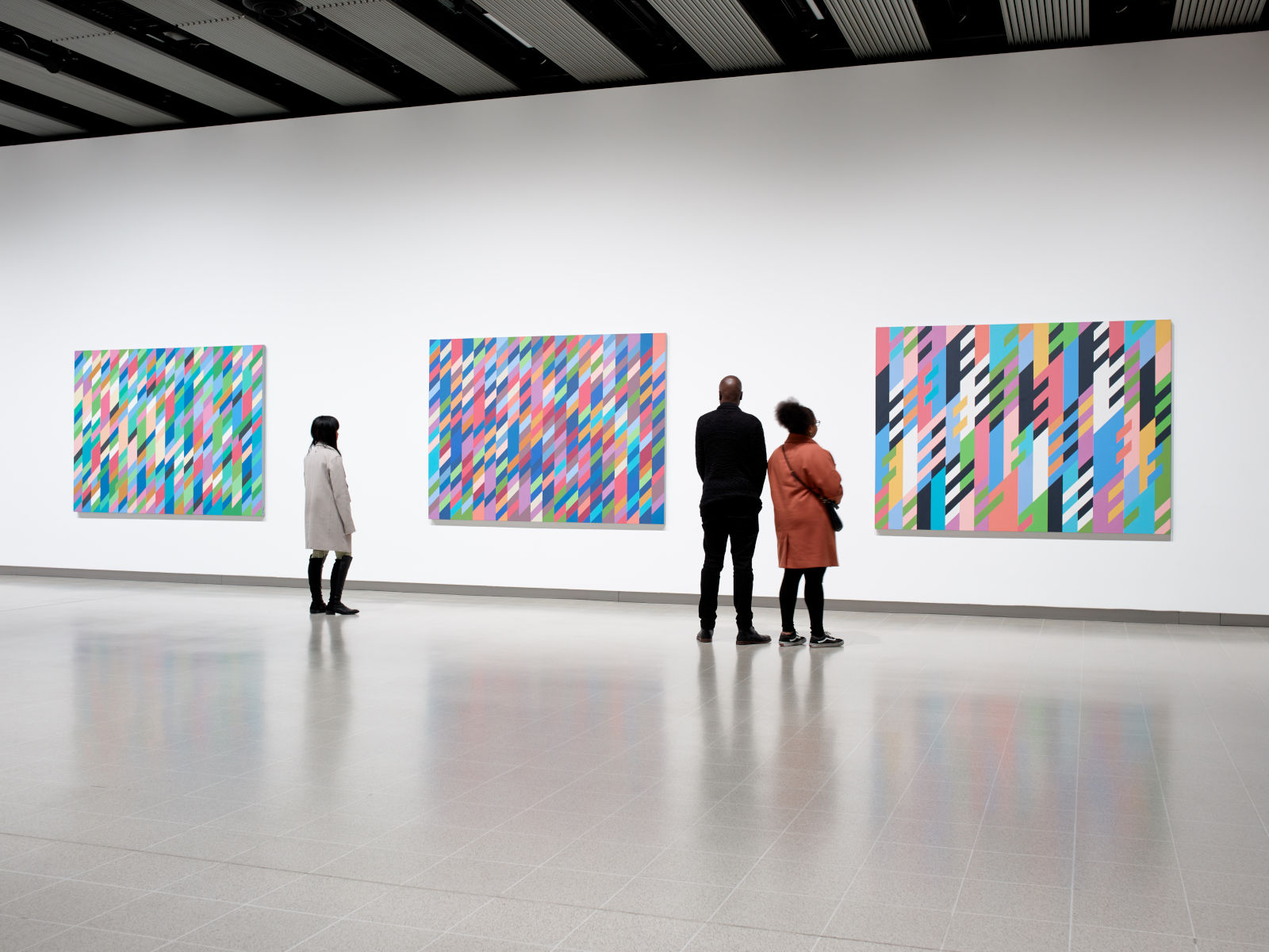 Hayward Gallery Bridget Riley 1