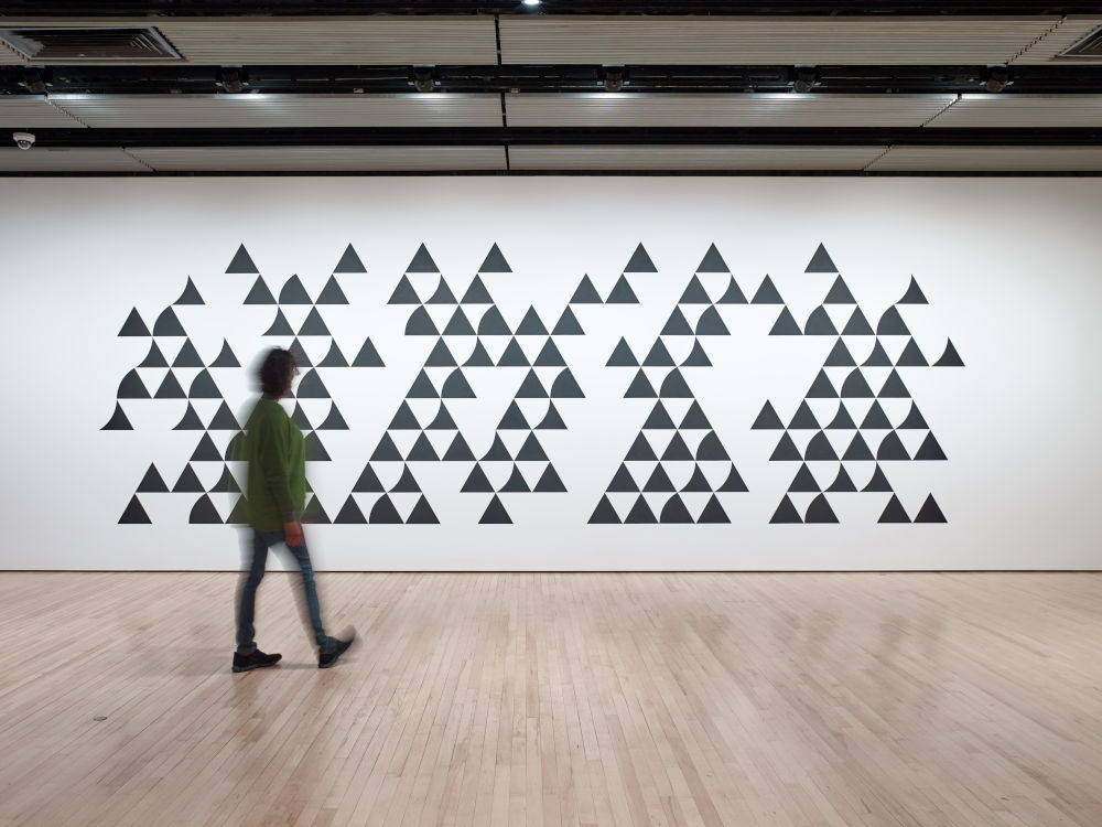 Hayward Gallery Bridget Riley 3