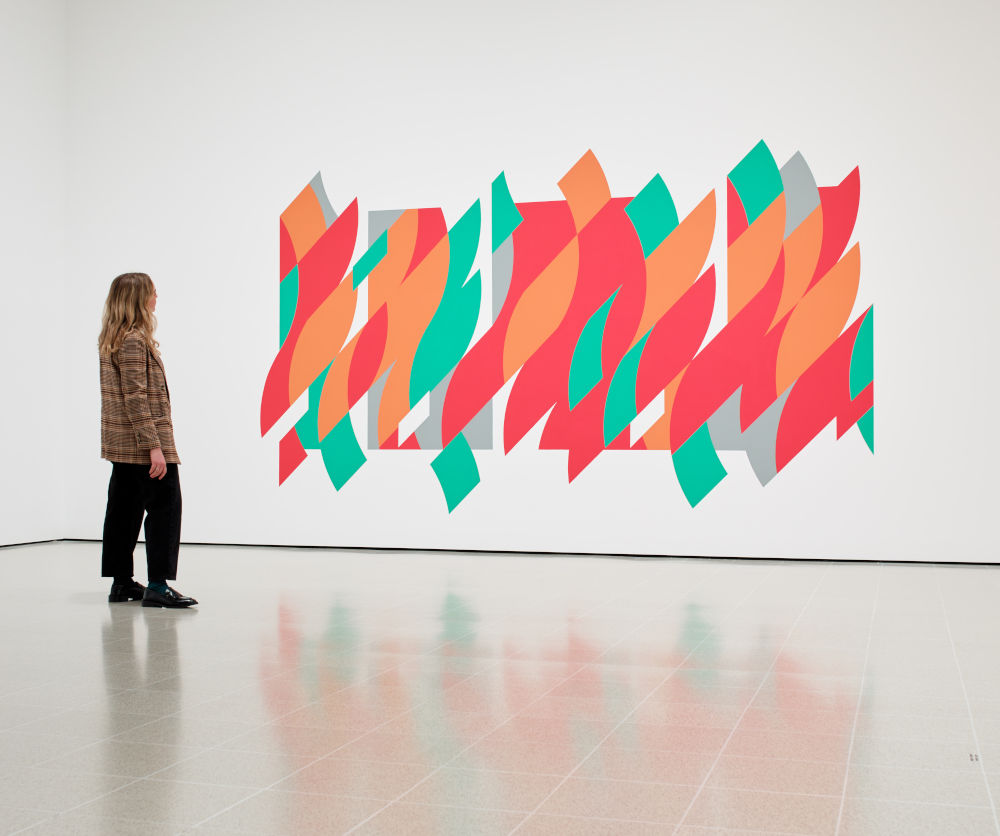 Hayward Gallery Bridget Riley 4