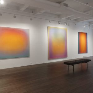 Thresholds of Perceptibility: The Color Field Paintings of Leon Berkowitz @Hollis Taggart, New York  - GalleriesNow.net