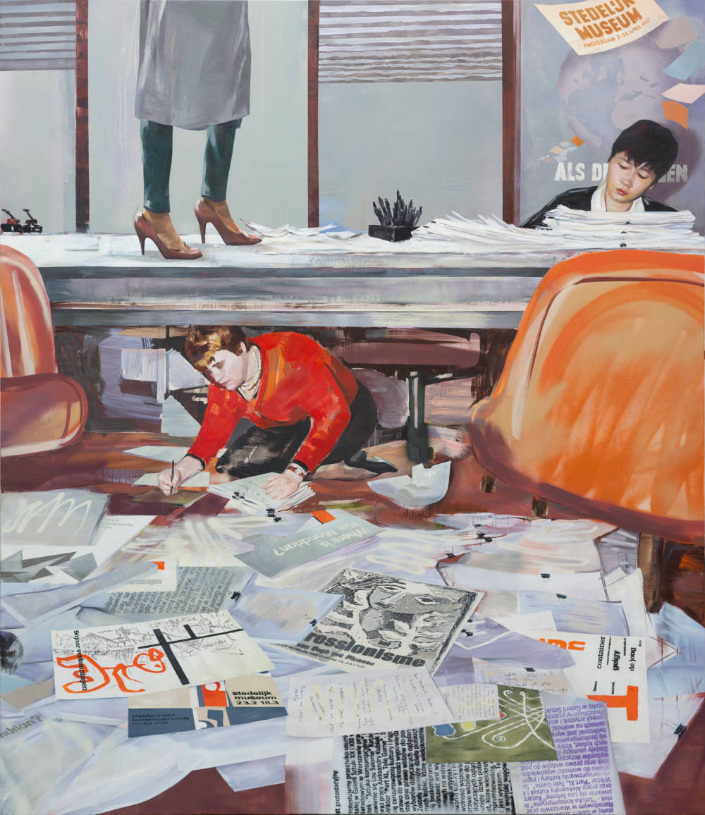 Immi in Stedelijk office