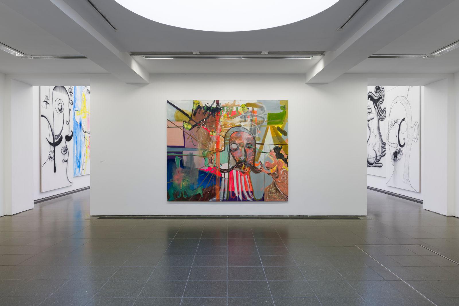 Serpentine Gallery Albert Oehlen 1