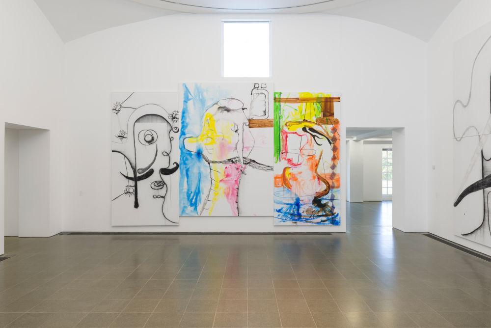 Serpentine Gallery Albert Oehlen 2