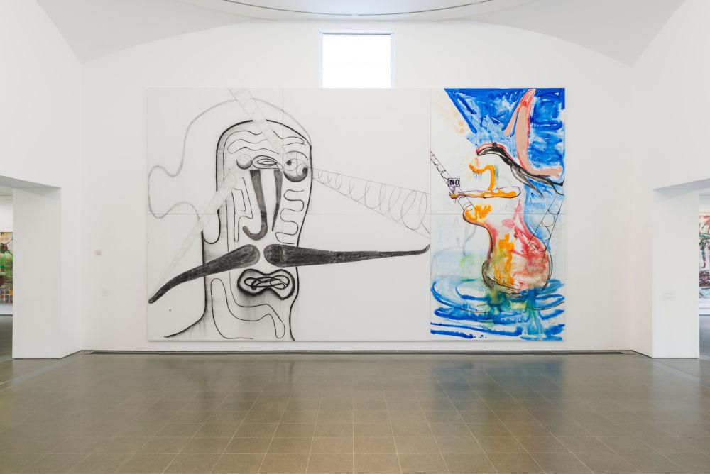 Serpentine Gallery Albert Oehlen 3