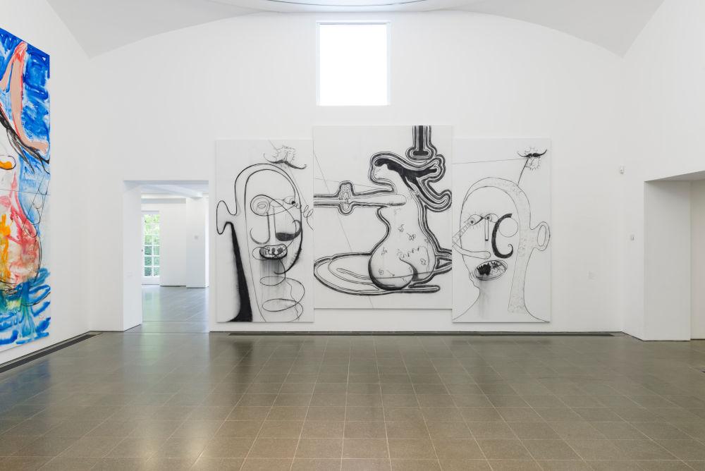 Serpentine Gallery Albert Oehlen 4