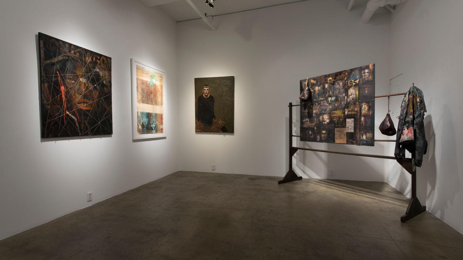 ACA Galleries John Mellencamp and Robert Rauschenberg 1