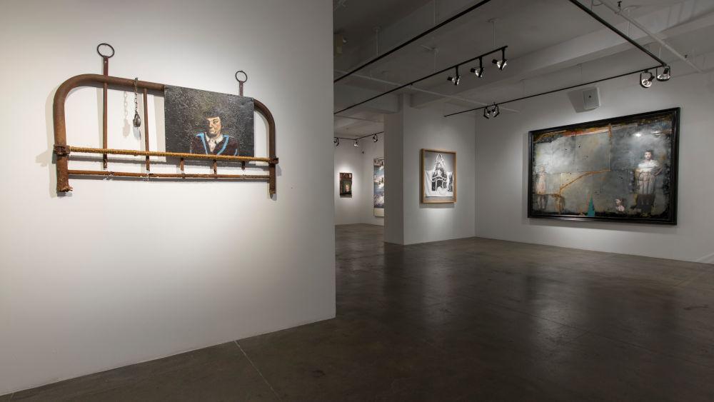 ACA Galleries John Mellencamp and Robert Rauschenberg 2