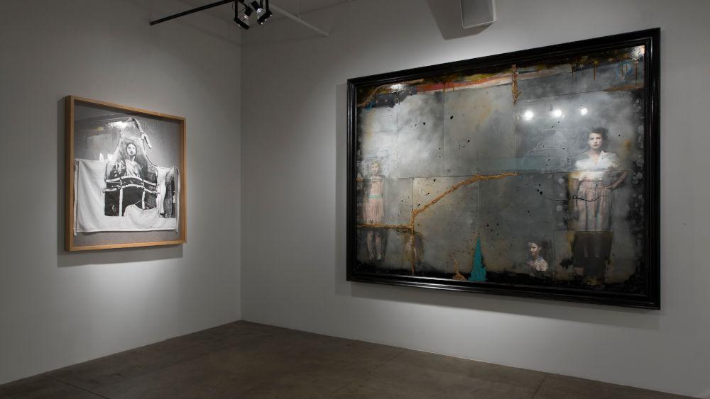 ACA Galleries John Mellencamp and Robert Rauschenberg 4