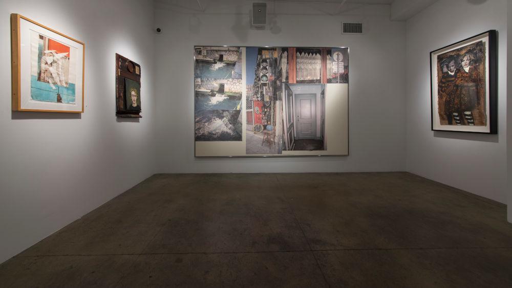 ACA Galleries John Mellencamp and Robert Rauschenberg 5