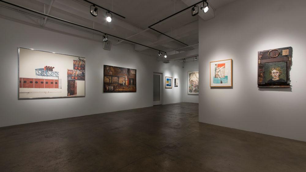 ACA Galleries John Mellencamp and Robert Rauschenberg 6