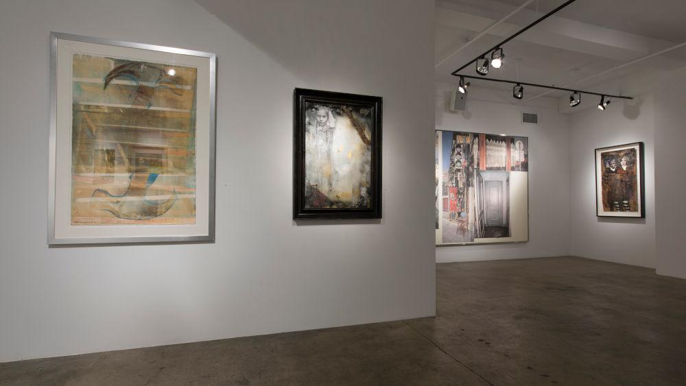 ACA Galleries John Mellencamp and Robert Rauschenberg 7