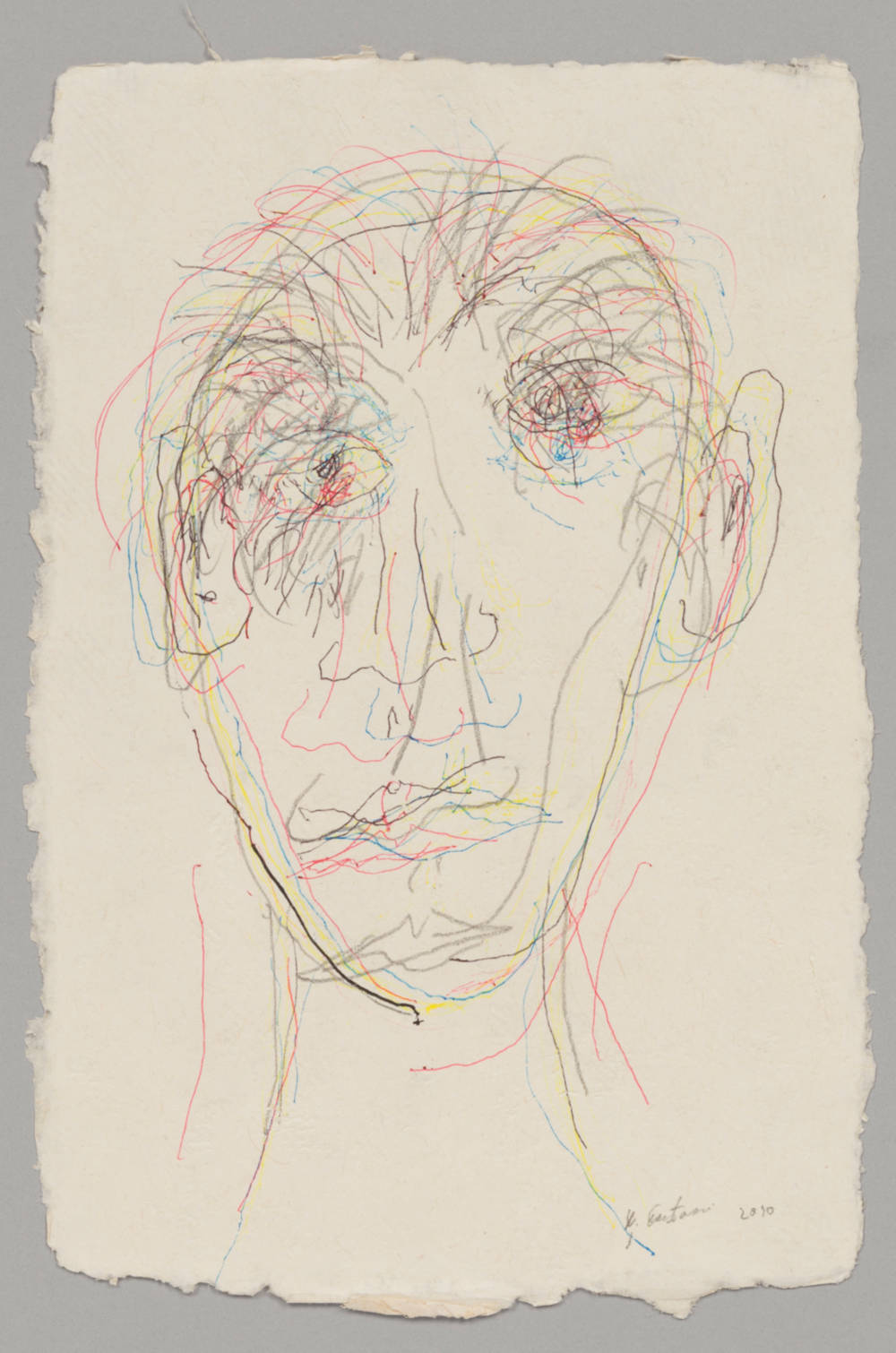 Untitled (Blind Self-Portrait)