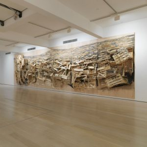 Tadashi Kawamata: Destruction / Reconstruction @Annely Juda Fine Art, London  - GalleriesNow.net