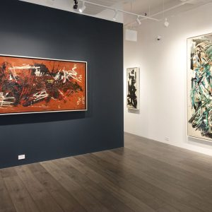 Space Poetry: The Action Paintings of Michael West @Hollis Taggart, New York  - GalleriesNow.net