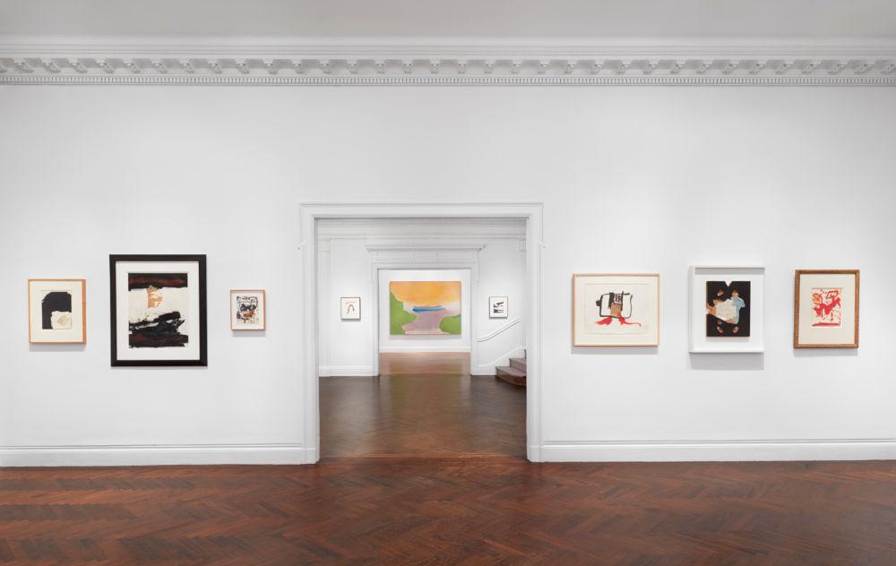 Mnuchin Frankenthaler and Motherwell 11