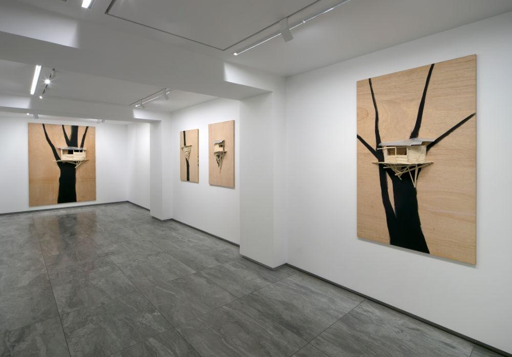 kamel mennour avenue Matignon Tadashi Kawamata 4