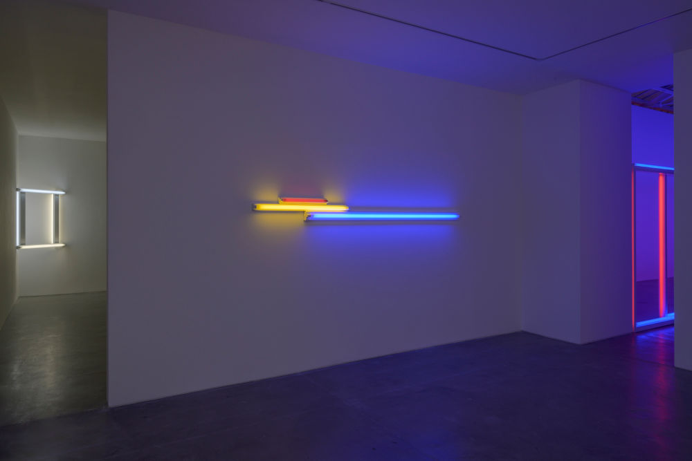 David Zwirner Paris Dan Flavin 2