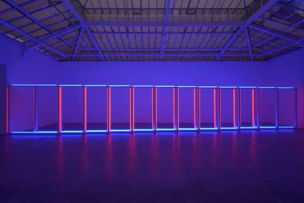 David Zwirner Paris Dan Flavin 3