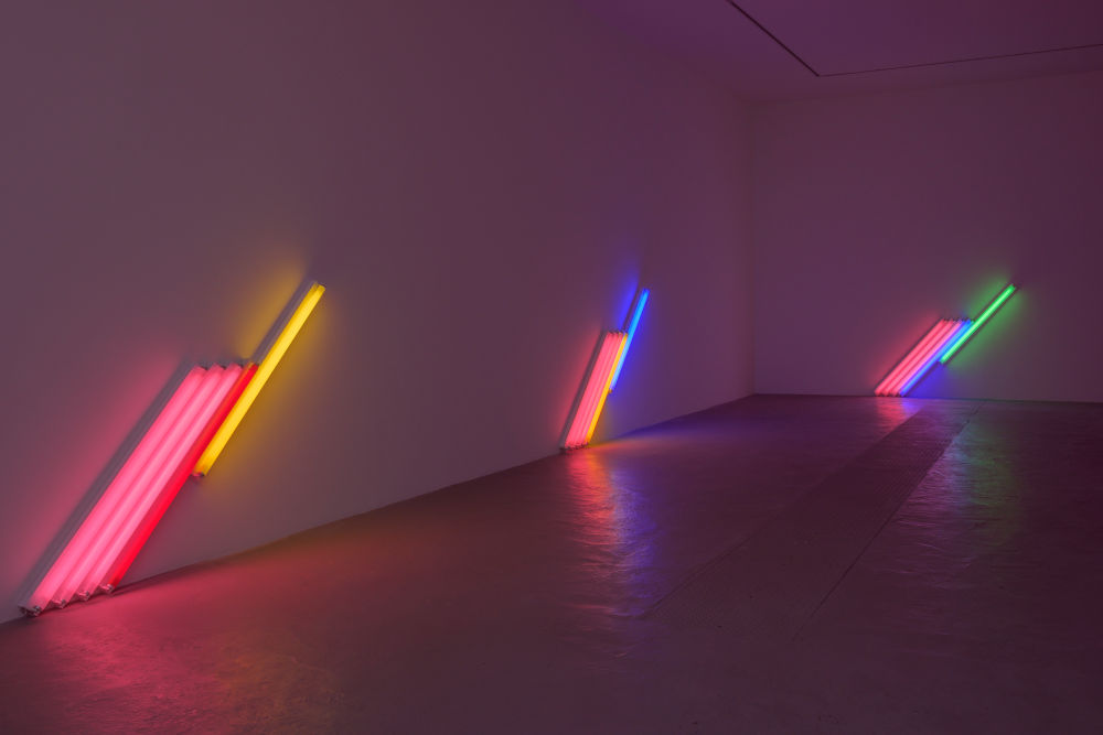 David Zwirner Paris Dan Flavin 4