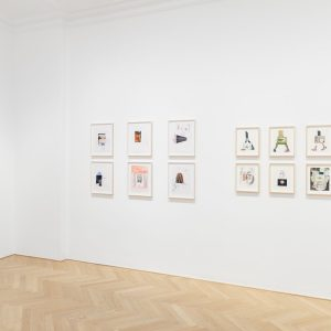 Carroll Dunham | Michael Williams: Drawings @Galerie Max Hetzler, Berlin  - GalleriesNow.net
