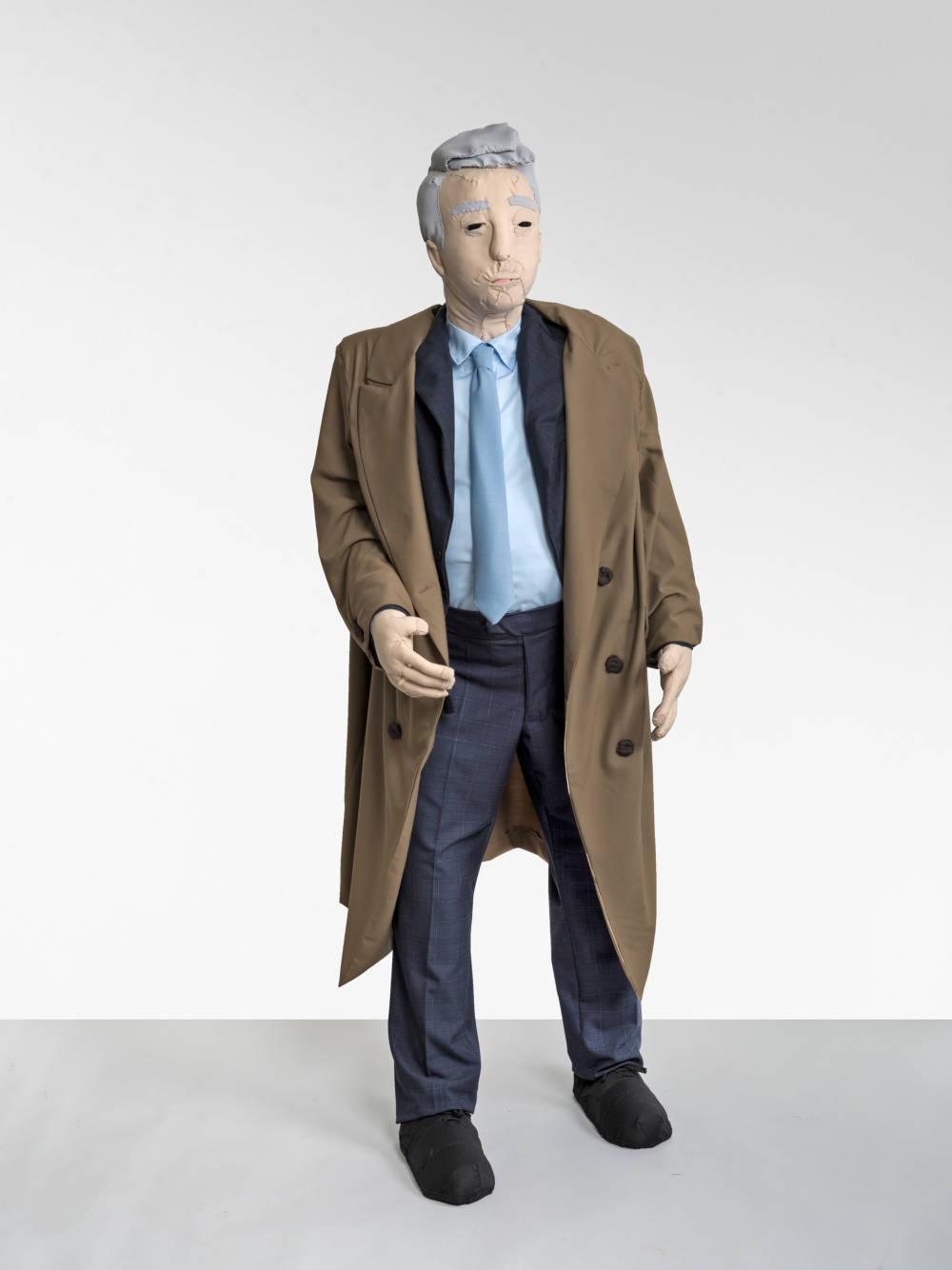 Herr im braunen Mantel (Gentleman in a Brown Coat)