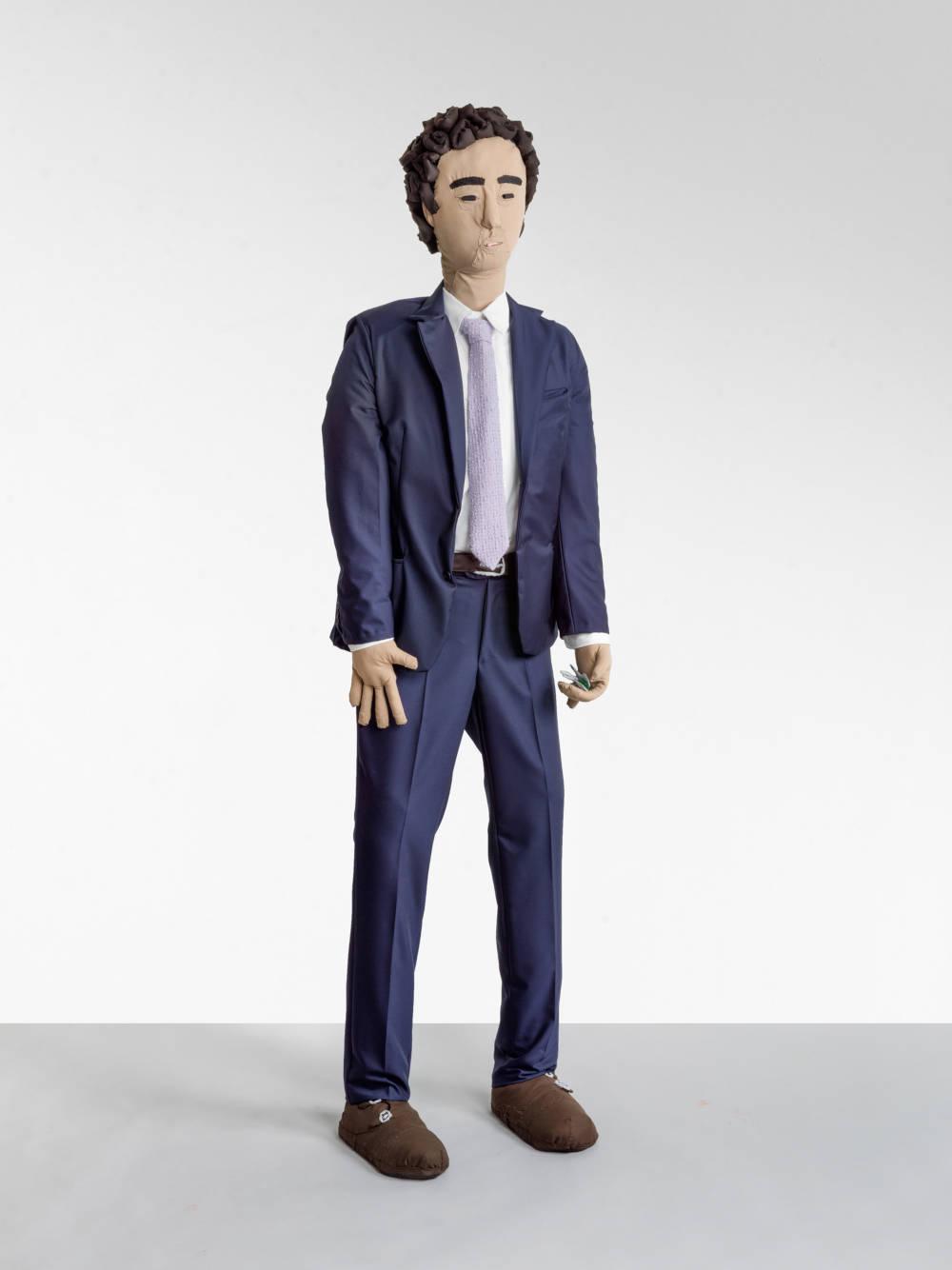 Herr im blauen Anzug (Gentleman in a Blue Suit)