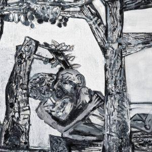 Tobias Pils: Adam & Eve @Galerie Eva Presenhuber, Maag Areal, Zürich  - GalleriesNow.net