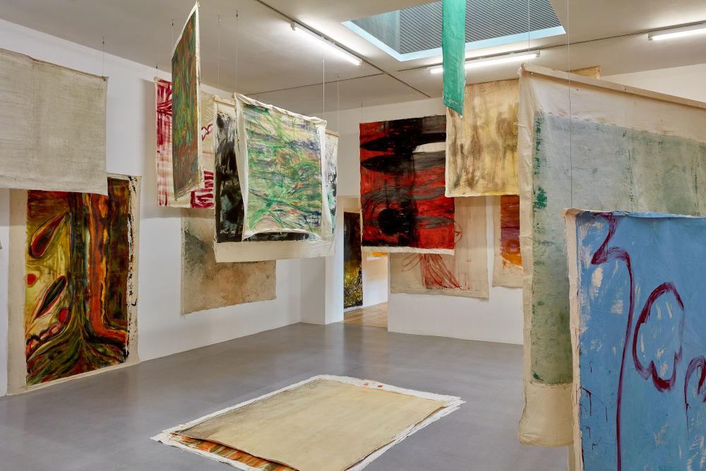 Camden Arts Centre Vivian Suter 5