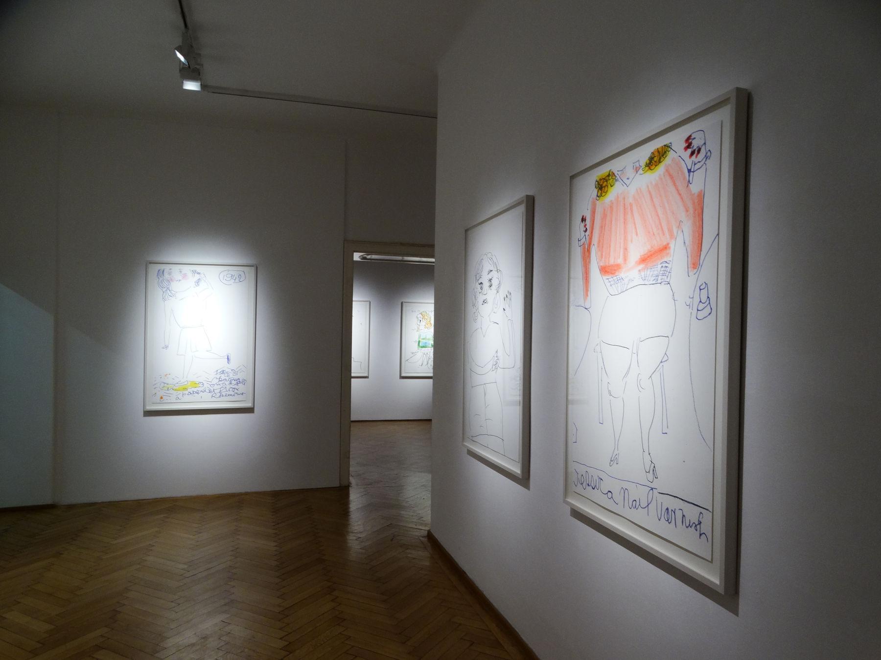 Galerie Ernst Hilger Rose Wylie 1