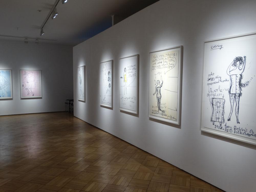 Galerie Ernst Hilger Rose Wylie 3