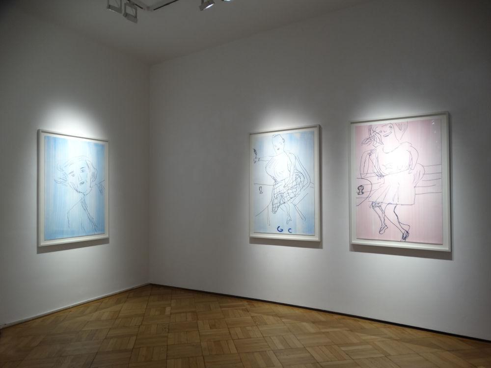 Galerie Ernst Hilger Rose Wylie 5