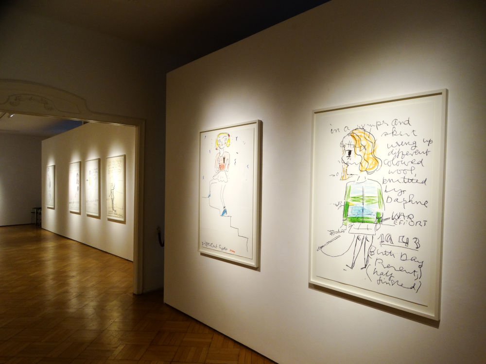 Galerie Ernst Hilger Rose Wylie 6