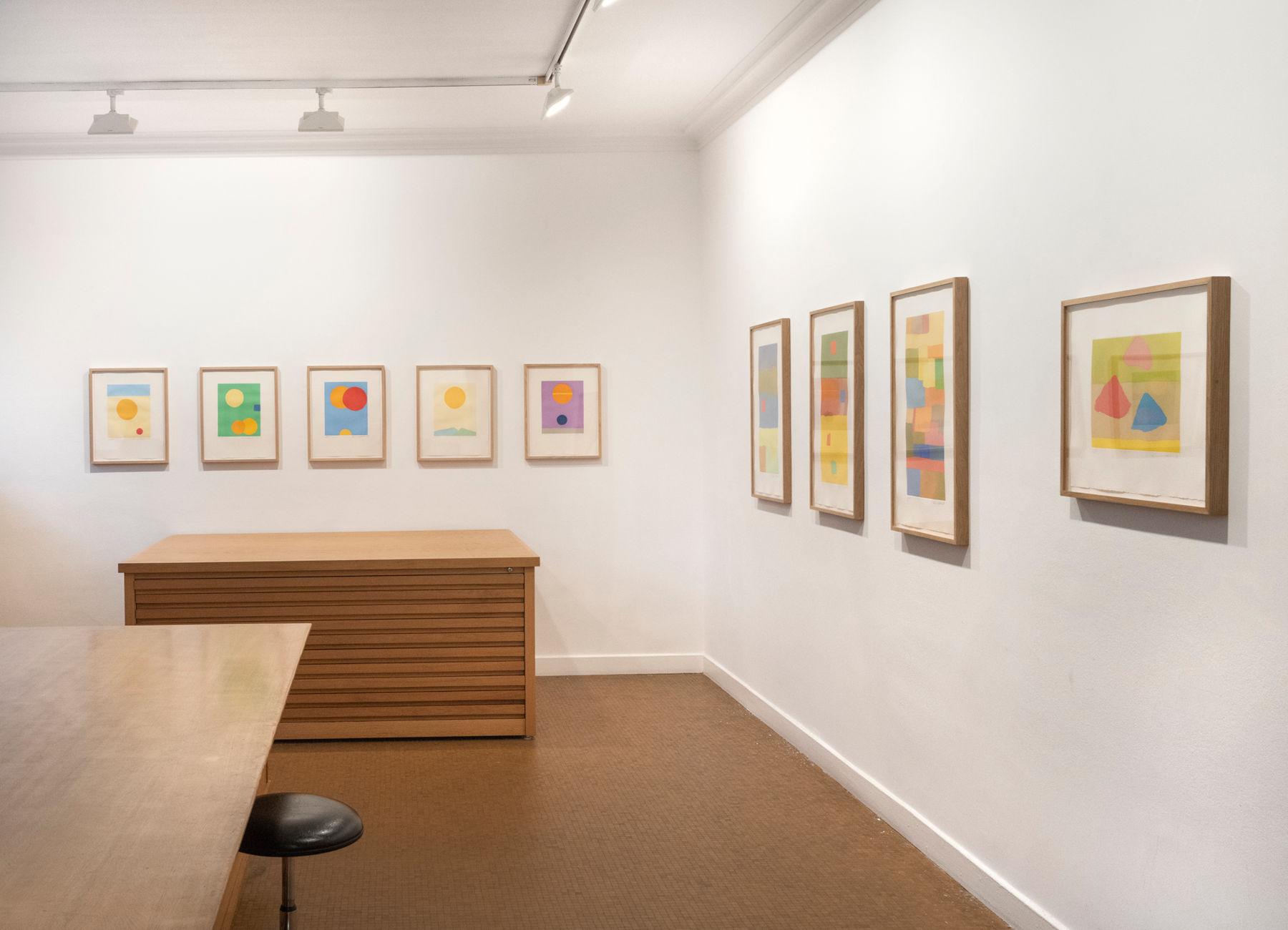 Galerie Lelong Etel Adnan prints 1