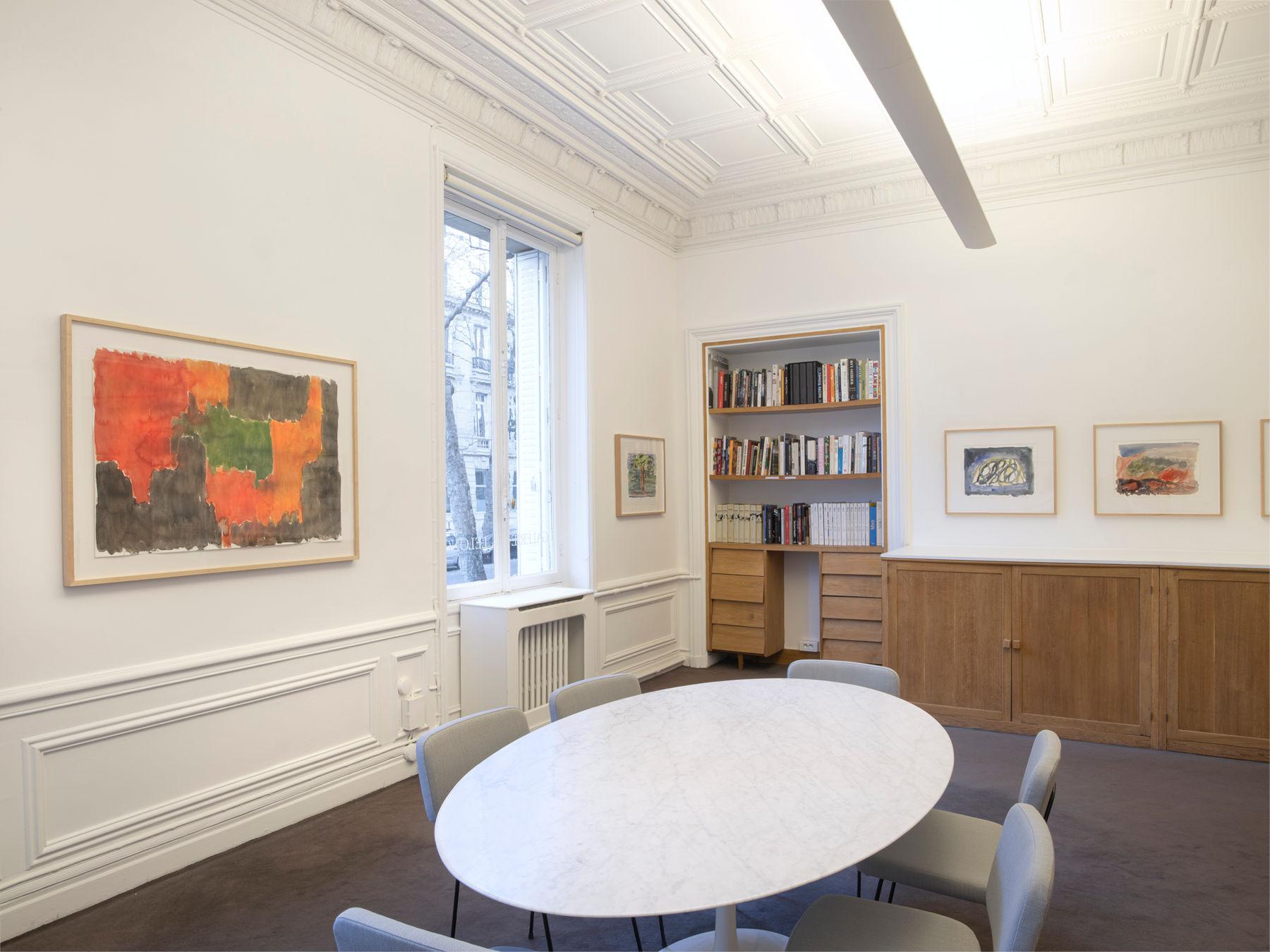 Galerie Lelong Gunther Forg 1