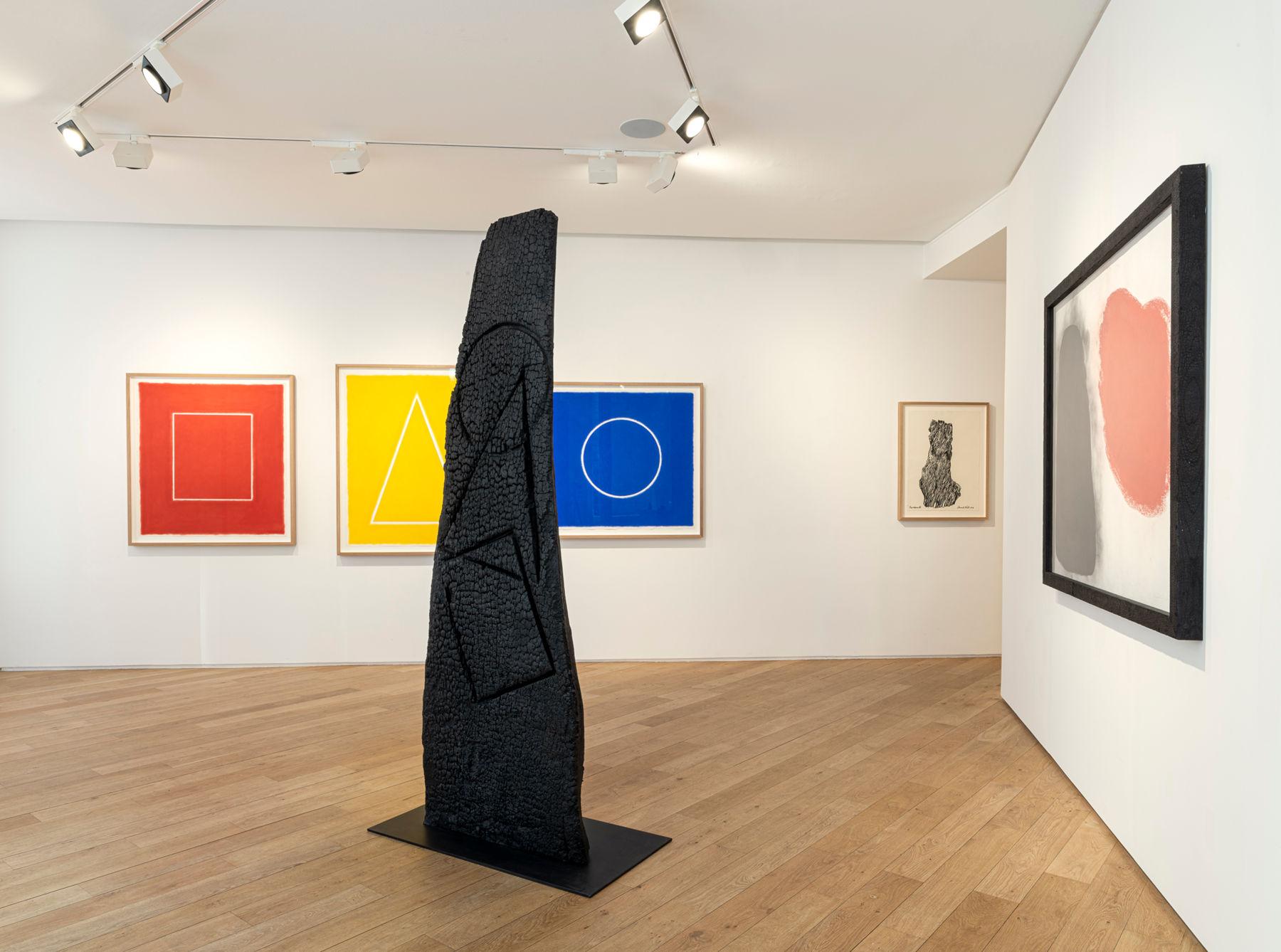 Galerie Lelong avenue Matignon David Nash 1