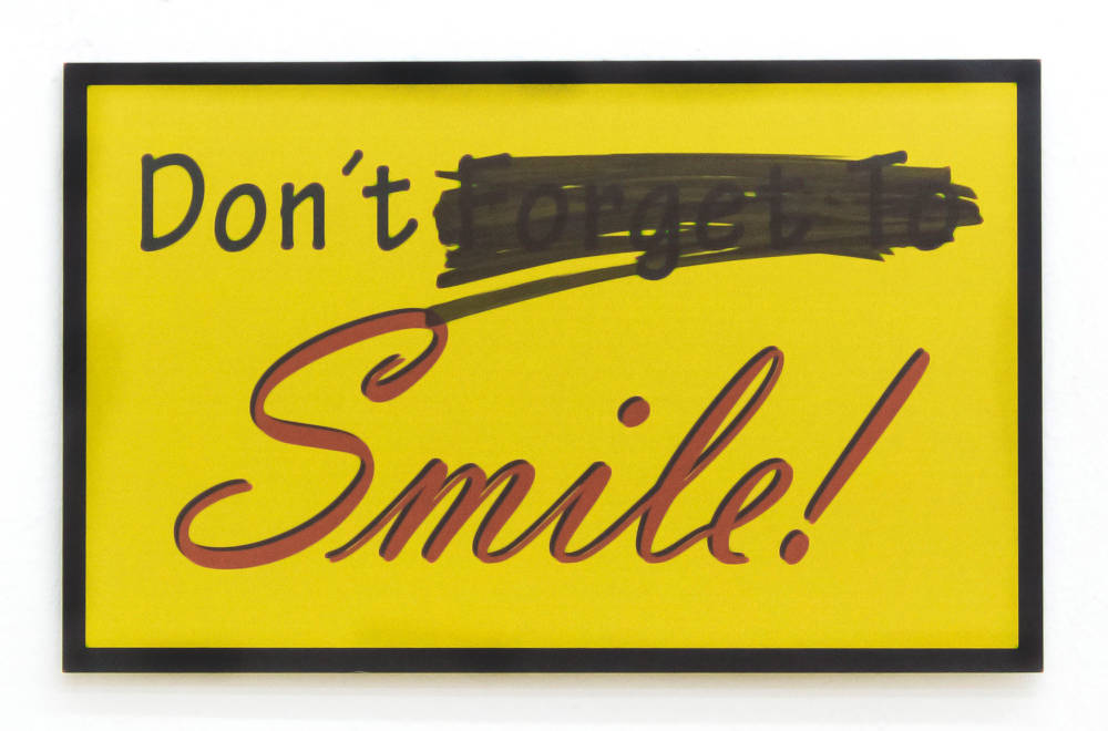 Don't (Forget To) Smile