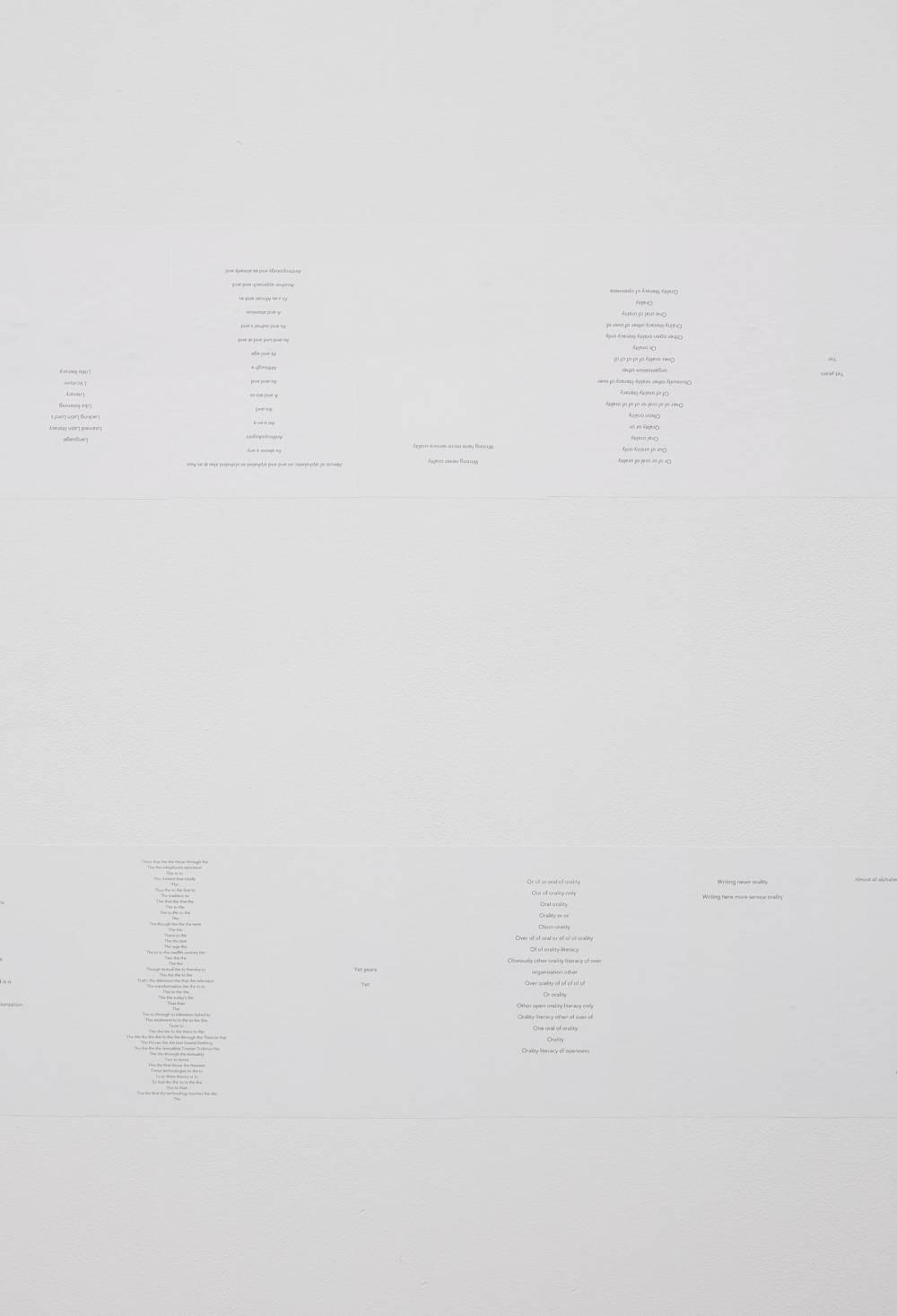 "Seven poems [O-R-A-L-I-T-Y] or ""I would say (write)"" [Ong]"