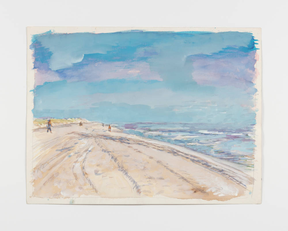 Untitled (beach with figures)